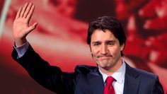 We've got a new Prime Minister in Canada. Justin Trudeau has been elected in a decisive win for the liberal party. Justin Trudeau, Liberal Party, Political Leaders, Liberal Government, Politics, Canadian History, Egypt Today, Keep Calm And Love, World Leaders