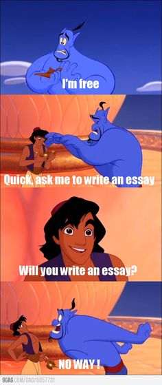 When it's the last day of school and you're talking to your English/History/whatever teacher.