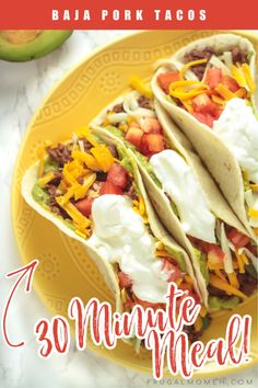 Baja Pork Tacos - Frugal Mom Eh! Recipes Using Pork, Grilling Recipes, Mexican Food Recipes, Real Food Recipes, Dinner Recipes, Easy Healthy Dinners, Quick Meals, Easy Pulled Pork, Pork Stew