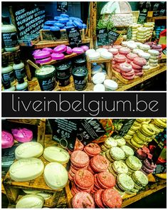 Once a woman enters Lush, it is unlikely that she wants to get out fast. The shop is nice smelling and pretty to look like. The products are interesting to explore. The staffs are friendly and bubbly.  #liveinbelgium #lifeinbelgium #belgium #antwerp #antwerpen #visitantwerp #shopping #meir #hair #lush #shampoo #strengthenhair #cinnamon #leaves #perfumed #recommended #hairproduct #macaroon #ricepudding #travel #nicesmell