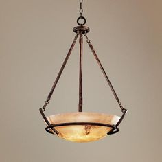 "Calavera Collection Alabaster Glass Pendant Chandelier - ($520) Love this but, not the price! 24""W by 31 1/2""H"