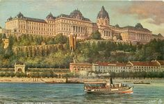 Hungary, Budapest, Postcards, The Past, Mansions, House Styles, Manor Houses, Villas, Mansion