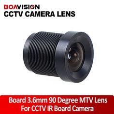 3.6mm lens CCTV Monofocal Fixed Iris Board Mount Lens / MTV Lens / CCTV Lens #Affiliate