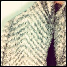 70s Vintage Faux Fur Coat Jacket White/ by VioletsAtticVintage, £49.00