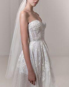 'Nolita' details #ReemAcra #ReemAcraWedding #Wedding #Bride #Bridal #WeddingDress