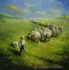 A Little Child Shall Lead Them Pricing: 22X22 Framed Giclee $495 22X22 Giclee $395