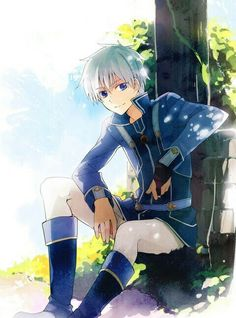 Zen frm shirayuki hime one of the best character in animie