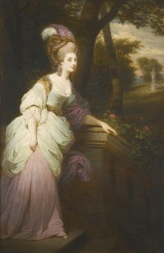ATTRIBUTED TO WILLIAM DOUGHTY, AFTER SIR JOSHUA REYNOLDS, P.R.A. YORK 1757 - 1782 LISBON PORTRAIT OF GEORGIANA CAVENDISH, THE DUCHESS OF DEVONSHIRE (1757 - 1806) Oil on canvas. Sotheby's