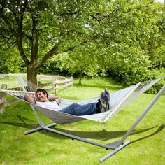 HAMMOCK with Steel Stand Double size, spreader and pillow  Reference: 010310-01031