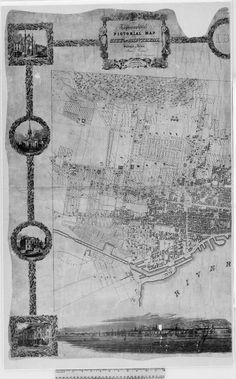 An 1846 #map of #Montreal, complete with #StreetView: http://goo.gl/1q817O pic.twitter.com/J01JUk6p0G