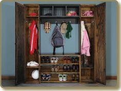 Wood Locker Cabinets, Locker Shelf, Shoe Rack