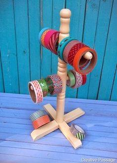 12 brilliant ways to organize washi tape