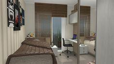 solteiro dormitorio dorm solteiro  - Galeria de Projetos Promob