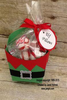 Jan Girl: Stampin' Up Christmas Fry Boxes                                                                                                                                                                                 More