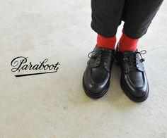 【楽天市場】paraboot パラブーツ chambord/シャンボード Uチップ レザーシューズ・743727・743735(全2色):Crouka(クローカ)