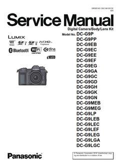 panasonic lumix dmc fz1000 digital camera service manual repair rh pinterest com Manual Book Owner's Manual