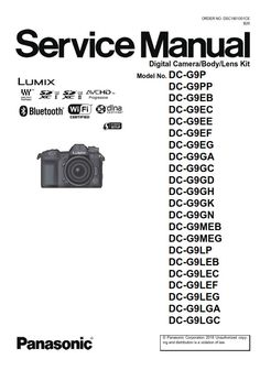 Panasonic Lumix DC-S1R S1RM Mirrorless Camera Service