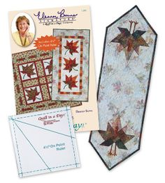 Quilt in a Day / Books / Autumn Leaves: Eleanor Signature Quilt Pattern