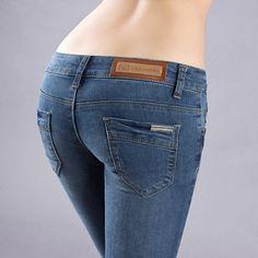 nova 2014 das mulheres moda jeans calças alta qualidade venda quente calças lápis estilo europeu e americano 27.79