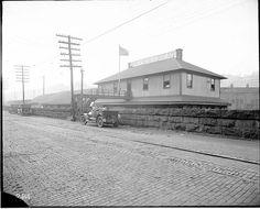Norfolk Southern Freight depot, Bluefield, West Virginia, Sept 25, 1917.