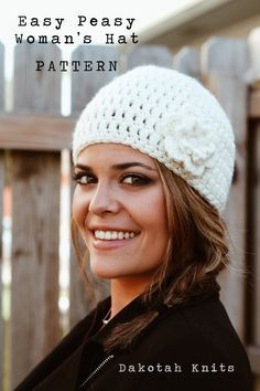 Easy Peasy Woman s Winter Hat   Free Pattern   f97c8984ec37