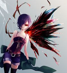 No is the exact same in this world. That's why I'm not them. Touka Kirishima - Tokyo Ghoul