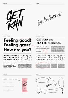 Brand New: New Logo and Packaging for Get Raw by Snask