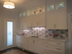 Butlers Pantry by Mary Gray, Lightstorm Inc Kitchen and Bath Design mary.gray@mac.com (631) 673-7635