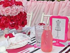 Fashion Show Birthday Party Ideas | Photo 9 of 39