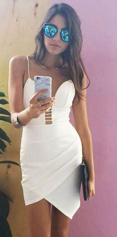#beginningboutique #label #outfits   Little White Dress