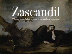 Insulto: zascandil