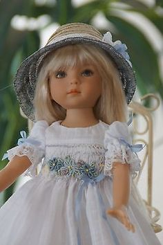 Effner-13-Little-Darling-DAYDREAMS-Smocked-Ens-by-Ladybugs-Doll-Designs. SOLD 7/9/14 for $90.99.