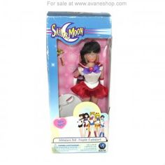 Sailor Moon Doll 6 inch Pretty Face Sailor Mars Doll Sealed in Box Blue Box Sailor Moon Toys, Sailor Mars, Dolls For Sale, Blue Box, Pretty Face, Seal, Harbor Seal