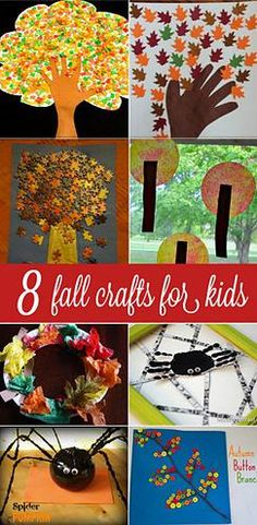 Kaila's Place| 8 Fall crafts for kids