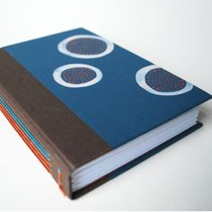 Long stitch hand-bound book from cold snap bindery.