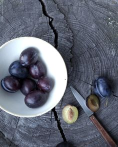 In Season - September. Try making plum ice-cream, it's scrummy and you don't see that in the supermarkets!