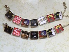 Design your Own favorite Broadway  Musical link Bracelet. Free USA Shippingqn on Etsy, $17.50
