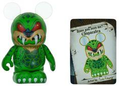 "Chupacabra - Disney Vinylmation ~3"" Myths and Legends Series Designer Figure"