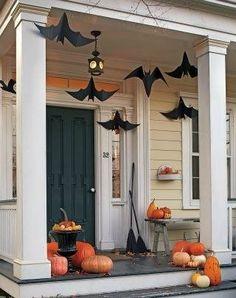 Украшаем интерьер на Хэллоуин: Летучие мыши