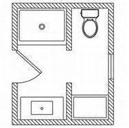 Beautiful 5x7 Bathroom Layout 9 Small 3 4 Bathroom Floor Plans Bathroomdesign4x7 Smallbathroo 5x7 Bathroom Layout Bathroom Floor Plans Small Bathroom Layout