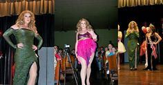 Womanless Beauty Pageant, Pageants, Prom Dresses, Formal Dresses, Girls, Fashion, Dresses For Formal, Toddler Girls, Moda