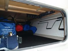 travel trailer storage - Incredible Camper Storage Hacks Ideas For Travel Travel Trailer Organization, Trailer Storage, Camper Storage, Storage Hacks, Storage Ideas, Organization Ideas, Trailer Decor, Rv Camping, Camping Hacks