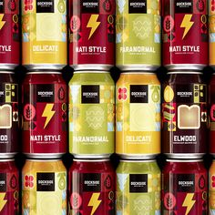 Dockside Brewing Company cans