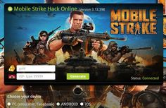 Mobile Strike gold generator  http://gamingroad.net/cheats-detail/mobile-strike-modded-apk-gold-vip-tricks/