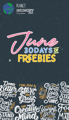 31 Best ♥ 30 Days of FREEBIES | JUNE 2019 images