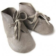 suede baby shoes at Sweet William