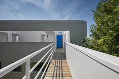 Richard Meier's Douglas House Added to National Register of Historic Places,© James Haefner courtesy of Michigan State Historic Preservation Office