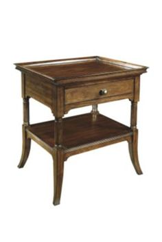 Calla Side Table from the Mariette Himes Gomez collection by Hickory Chair Furniture Co.