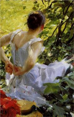 In the woods - Anders Zorn