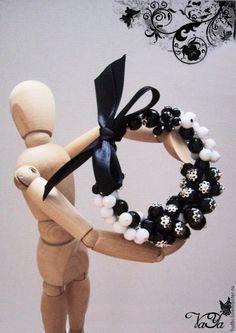 Мастер-класс: браслет с бантом на мемори-проволоке - Ярмарка Мастеров - ручная работа, handmade